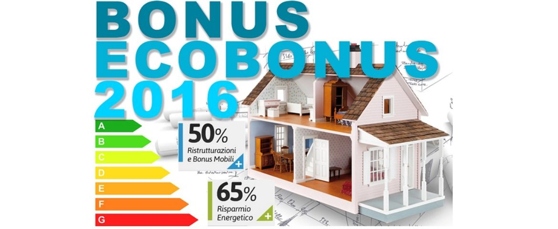 Governo continua con gli incentivi: Detrazioni Fiscali Ristrutturazioni, Ecobonus e Bonus Mobili per il 2016